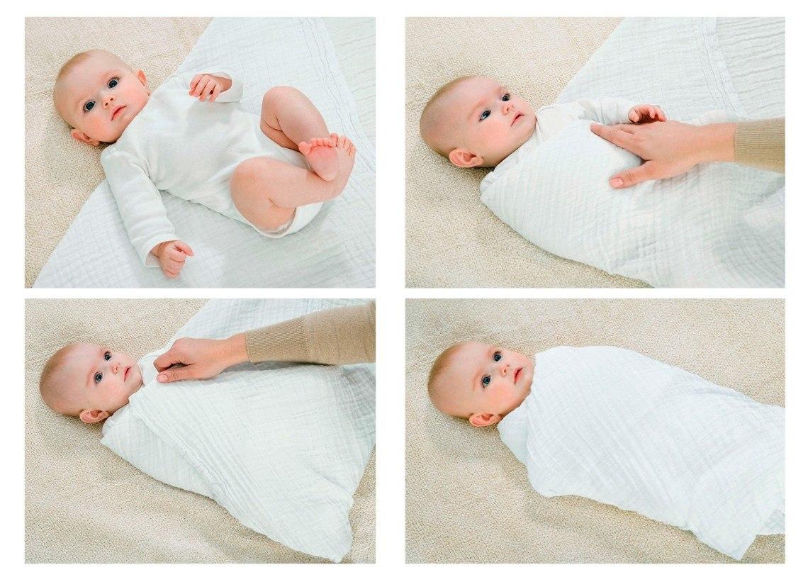 حسب الدراسات العلمية فان تقميط الرضع له فوائد جمة do.php?img=44849