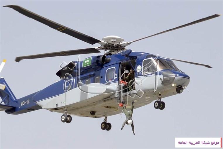 لحظات سقوط الجندي القحطاني من طائرة الأمن بالصور 13622347234.jpg