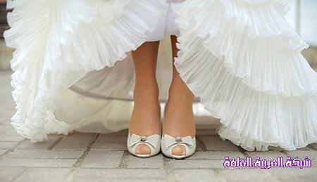 كيف تختار العروس حذائها؟! نصائح هامة 13766576791.jpg