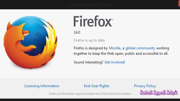 """موزيلا تطلق الإصدار 24 من متصفح """"فايرفوكس"""" اليوم 1379493959141.png"""
