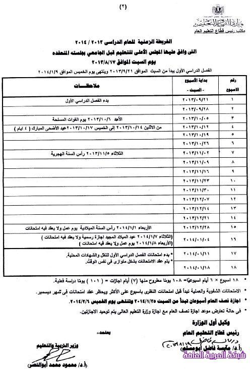 مواعيد الدراسة والاجازات والامتحانات للعام الدراسى 2013/ 2014 في جمهورية مصر 137962713552.jpg