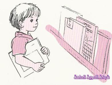 فعالية مشاركة الاطفال في الروضة بترتيب المكتبة 1384198684031.jpg