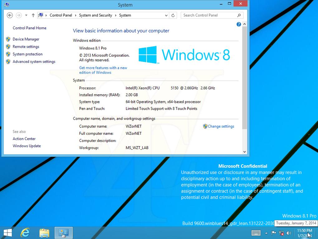صور أول تحديث ويندوز 8.1 دون ظهور لقائمة إبدأ التقليدية 1389254951163.jpg