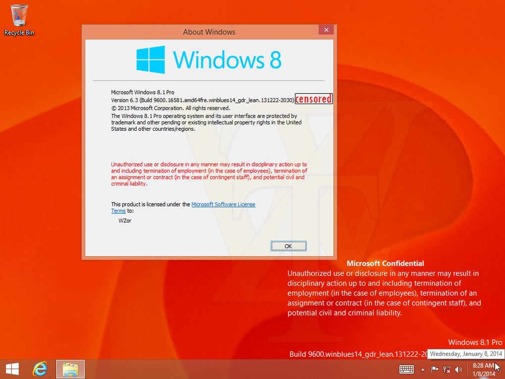 صور أول تحديث ويندوز 8.1 دون ظهور لقائمة إبدأ التقليدية 1389255070011.jpg