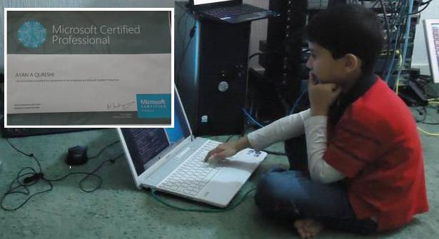 باكستاني بعمر السادسة أصغر خبير ميكروسوفت معتمد في العالم 1414662100621.jpg