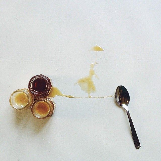 أجمل اللوحات بالقهوة والعسل والشوكولاتة 1436086321262.jpg