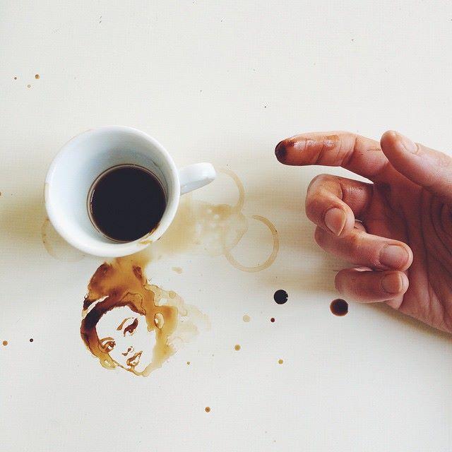 أجمل اللوحات بالقهوة والعسل والشوكولاتة 1436086469861.jpg