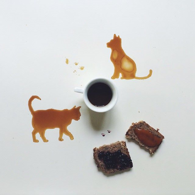 أجمل اللوحات بالقهوة والعسل والشوكولاتة 1436086589162.jpg