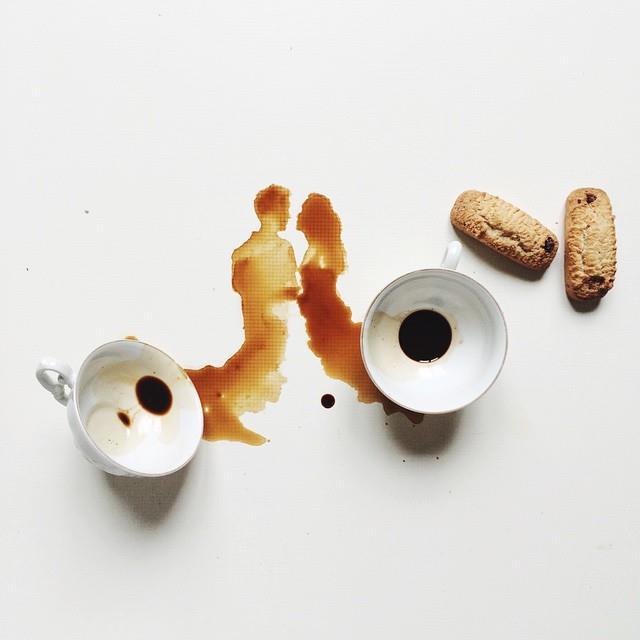 أجمل اللوحات بالقهوة والعسل والشوكولاتة 1436086589233.jpg