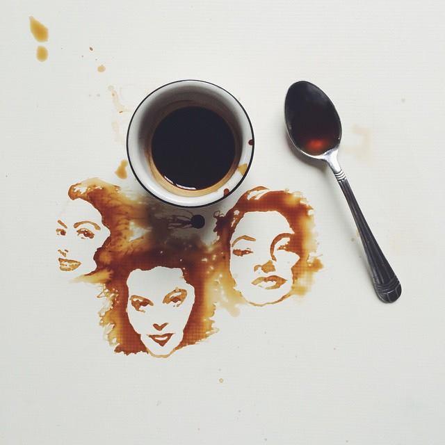 أجمل اللوحات بالقهوة والعسل والشوكولاتة 14360868572.jpg