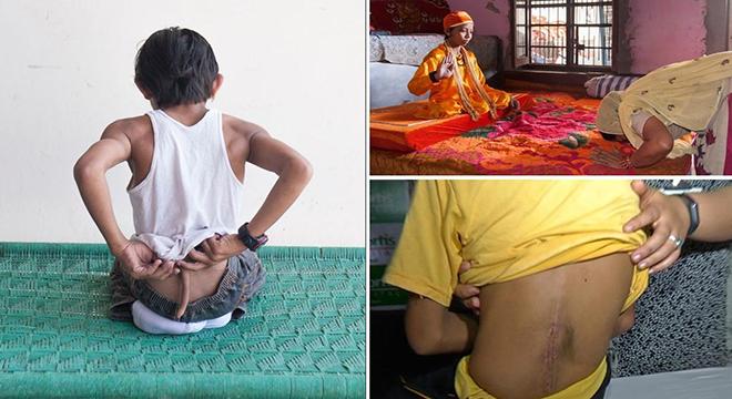صبي هندي يفقد  إلوهيته 1436087301811.jpg