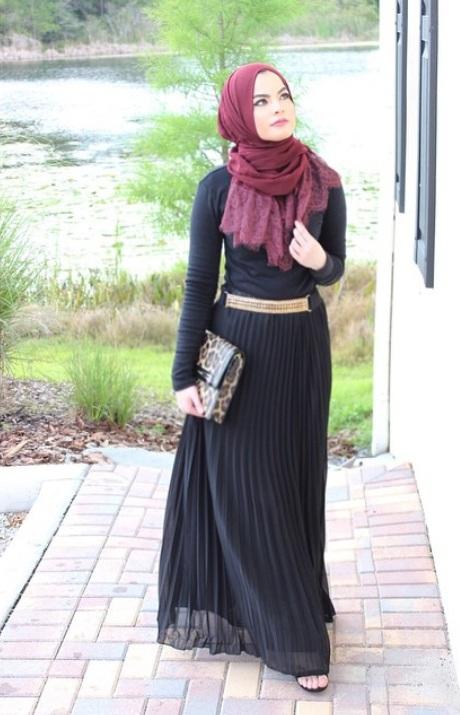 بالصور:أفكار لإرتداء الفستان الماكسي الأسود للمحجبات 1437697168523.jpg