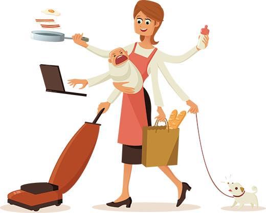 وظيفة الأم هي الأعلى أجراً في العالم 1437962499151.jpg