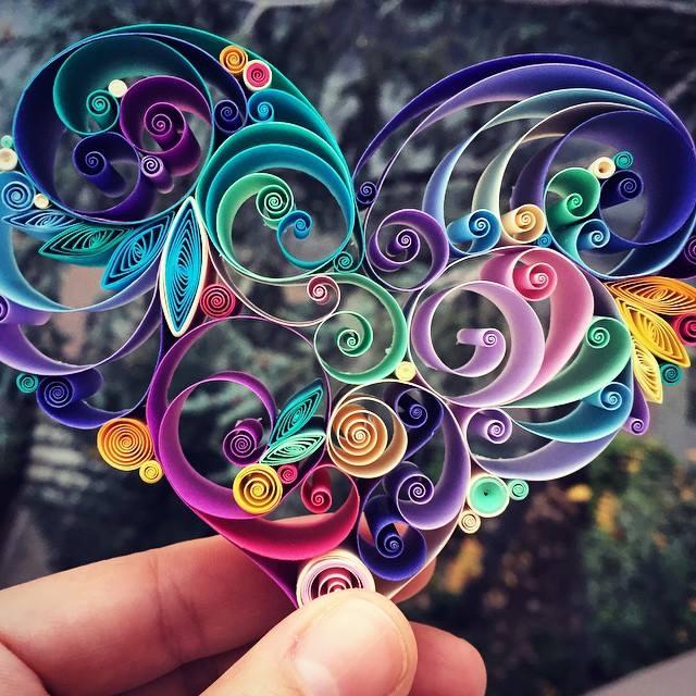 فن طي الورق في تصاميم زخرفية مدهشة 1439144070323.jpg