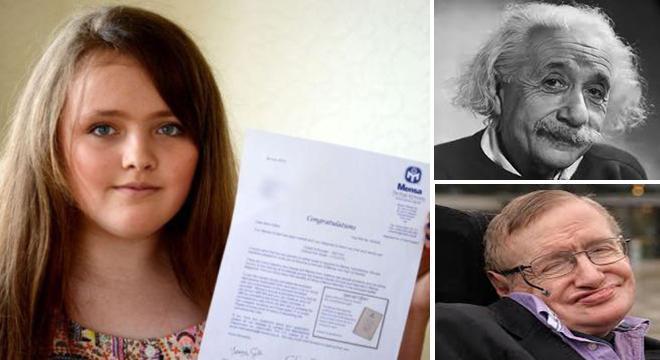 طفلة بريطانية تفوق على أينشتاين وهوكينغ وتصبح أذكى شخص في العالم 1439145045981.jpg