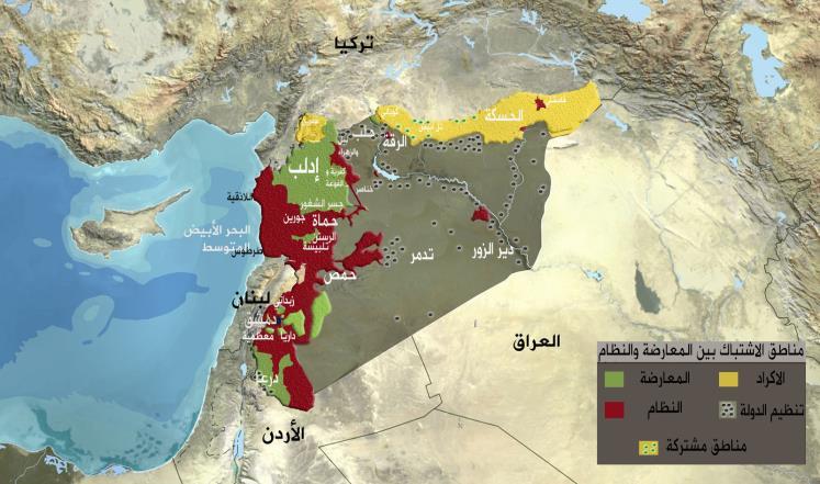 خريطة توزيع القوى على الأراضي السورية 1439898005941.jpg