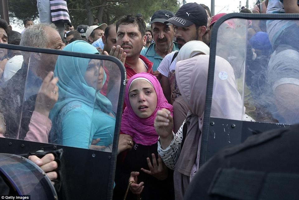 صور صادمة لمعاناة اللاجئين السوريين على حدود مقدونيا 144024241062.jpg