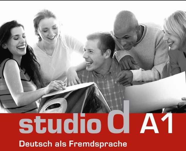 للمبتدئين في اللغة الألمانية كتاب Studio D A1 1444730860451.jpg