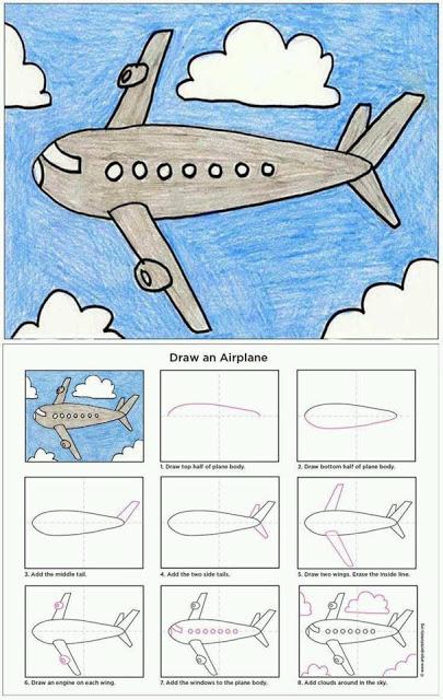 طرق سهلة تعليم الرسم خطوة بخطوة لمرحلة رياض الاطفال 1464296090061.jpg